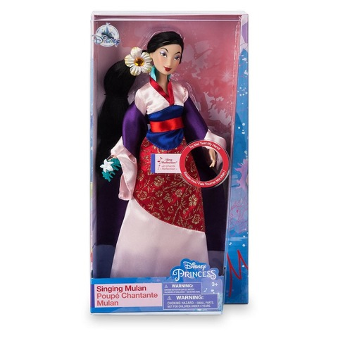Кукла Disney Мулан поющая, Принцесса Диснея mattel disney princess кукла принцесса золушка с развевающейся юбкой