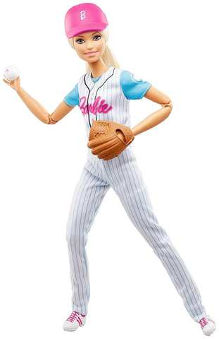 "Кукла Mattel Барби ""Бейсбол"""