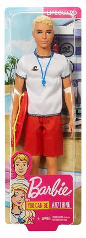 Кукла Mattel Barbie Ken Спасатель duane swierczynski ken lashley cable king size 1