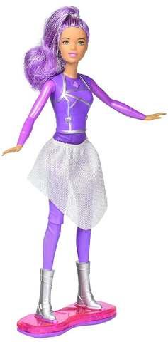Кукла Mattel Барби с ховербордом Космическое приключение barbie кукла starlight adventure барби с ховербордом dlt23