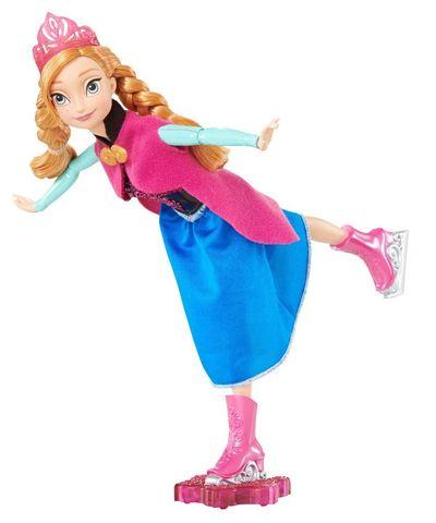 Кукла Mattel Анна Холодное Сердце, на коньках кукла mattel купидон серия день рождения