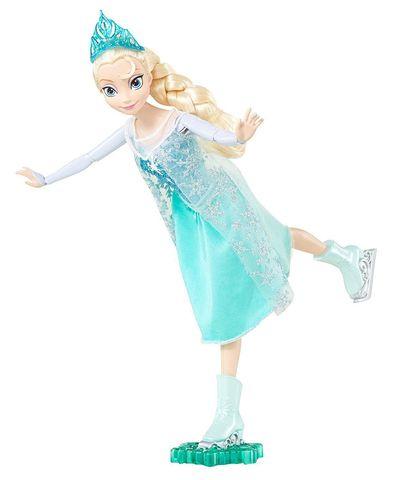 Кукла Mattel Эльза, Холодное Сердце, на коньках74721629Игровой набор «Дворец Эльзы» по мотивам мультфильма «Холодное сердце» наверняка понравится каждому маленькому поклоннику Диснея. В комплект входит впечатляющий дворец Эльзы и две маленькие куклы – Эльзы и Анны. Благодаря аксессуарам из комплекта в виде снежинок и красивой мебели ребенок сможет весело провести время, разыгрывая любимые моменты из мультфильма или воображая новые снежные приключения. Подарите вашему малышу возможность весело играть много часов подряд! В комплекте Игровой набор (3 части), 2 куклы, 2 накидки, 4 комплектующих и 9 аксессуаров. Характеристики продукта Дизайн по мотивам мультфильма Диснея. Поднимите сосульку на вершине замка, чтобы открыть балкон третьего этажа. В комплекте 9 аксессуаров по мотивам мультфильма.