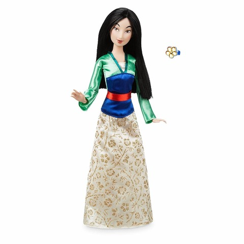 Кукла Disney Мулан с кольцом, Принцесса Диснея mattel disney princess кукла принцесса золушка с развевающейся юбкой