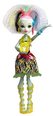 Кукла Mattel Фрэнки Штейн из серии Электризованные mattel monster high dvh72 школа монстров электро фрэнки из серии под напряжением