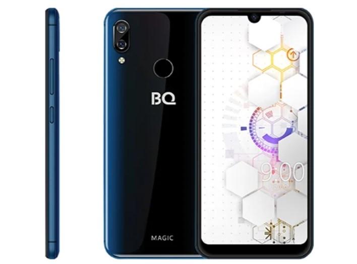 Смартфон BQ 6040L Magic 2/32GB dark blue лонгслив urban classics contrast tall tee l s grey white 3xl