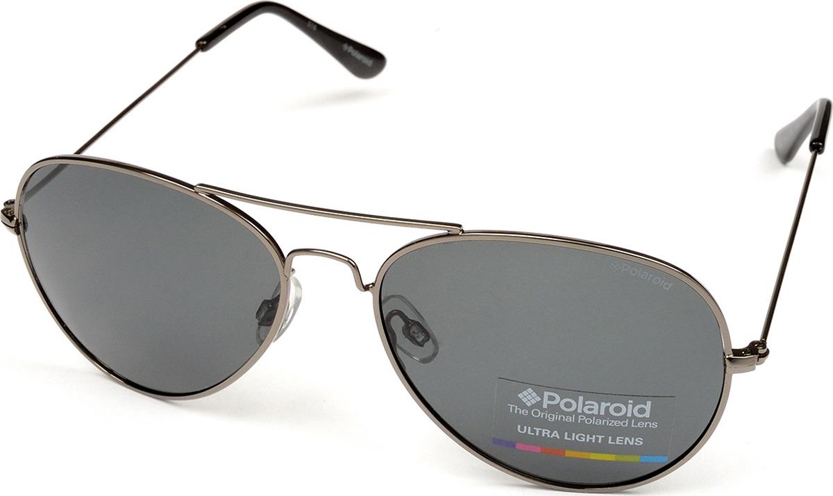 Очки солнцезащитные мужские Polaroid, PLD-214556A4X58Y2, серыйPLD-214556A4X58Y2Поляризация, защита от УФ лучей.