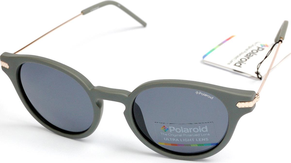 Очки солнцезащитные мужские Polaroid, PLD-233638VEE48C3, серый очки polaroid pld 6036 s n9p