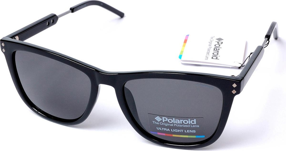 Очки солнцезащитные мужские Polaroid, PLD-233634CVS55Y2, серый, черный очки polaroid pld 6036 s n9p
