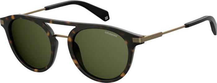 Очки солнцезащитные мужские Polaroid, PLD-201022N9P50UC, зеленый, черный очки polaroid pld 6036 s n9p