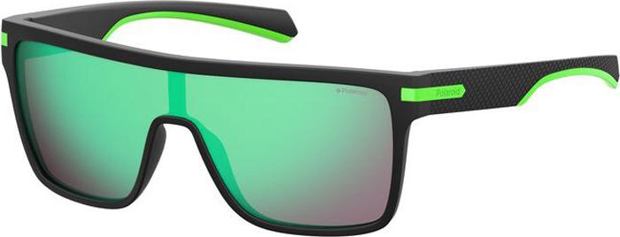 Очки солнцезащитные мужские Polaroid, PLD-201024003995Z, серый, черный очки polaroid pld 6036 s n9p