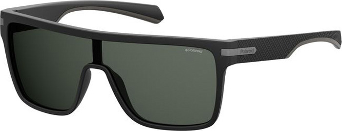 Очки солнцезащитные мужские Polaroid, PLD-20102400399M9, серый, черныйPLD-20102400399M9Поляризация, защита от УФ лучей.