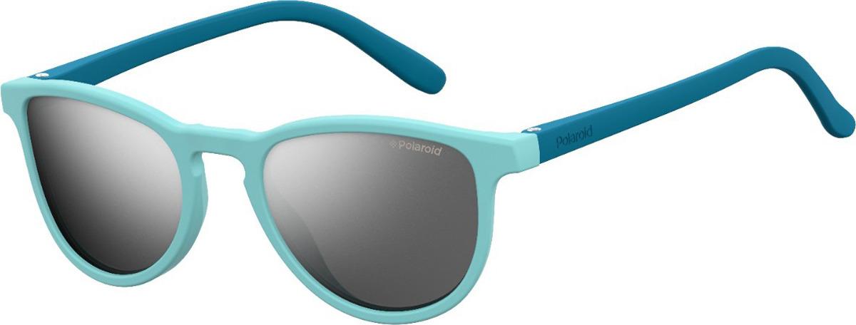 Очки солнцезащитные детские Polaroid, PLD-201196AGS425X, синий, голубой очки polaroid pld 6036 s n9p
