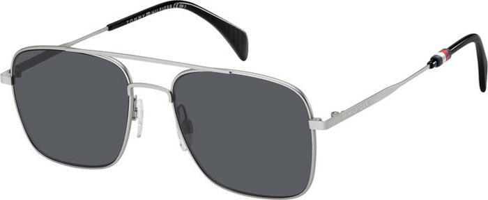 Очки солнцезащитные мужские Tommy Hilfiger, THF-20087301155IR, серыйTHF-20087301155IRЗащита от УФ лучей.
