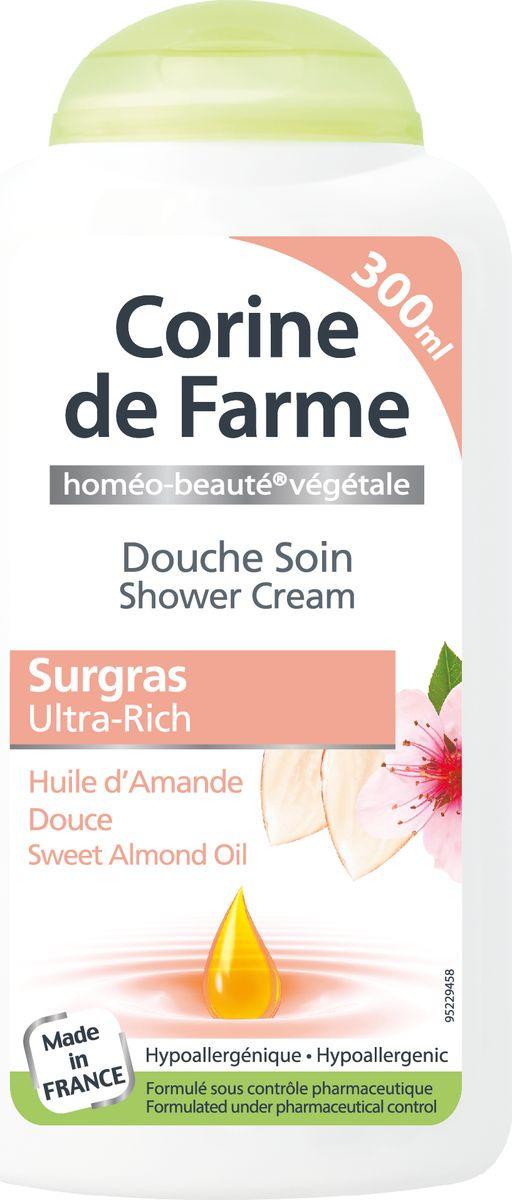 Гель для душа Corine de Farme Сладкий миндаль, ультра питание, 300 мл шампунь corine de farme купить