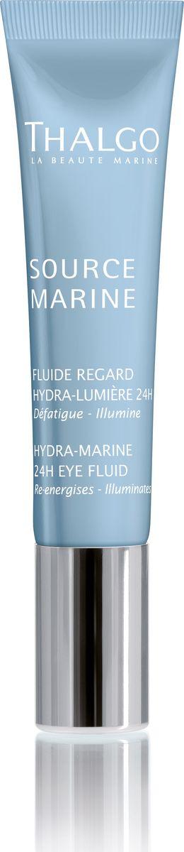 Флюид для кожи вокруг глаз Thalgo Морской источник, 24 часа, 15 мл недорого