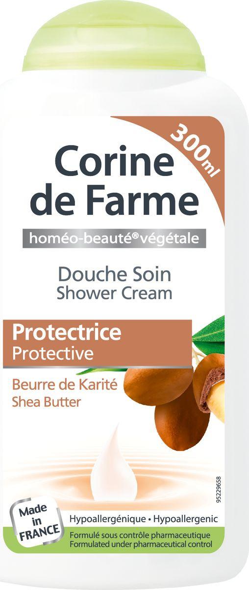Гель для душа Corine de Farme Каритэ, защищающий кожу уход, 300 мл corine de farme мой интимный уход крем гель для душа защищающий 250 мл