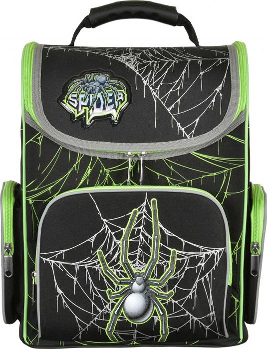 Ранец школьный Silwerhof Spider, 1088899, черный цена и фото