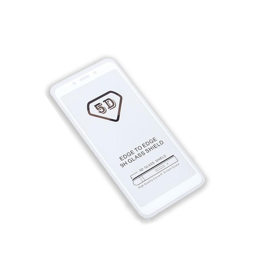 Защитное стекло Full Glue Xiaomi Redmi 6/6A на полный экран, белый