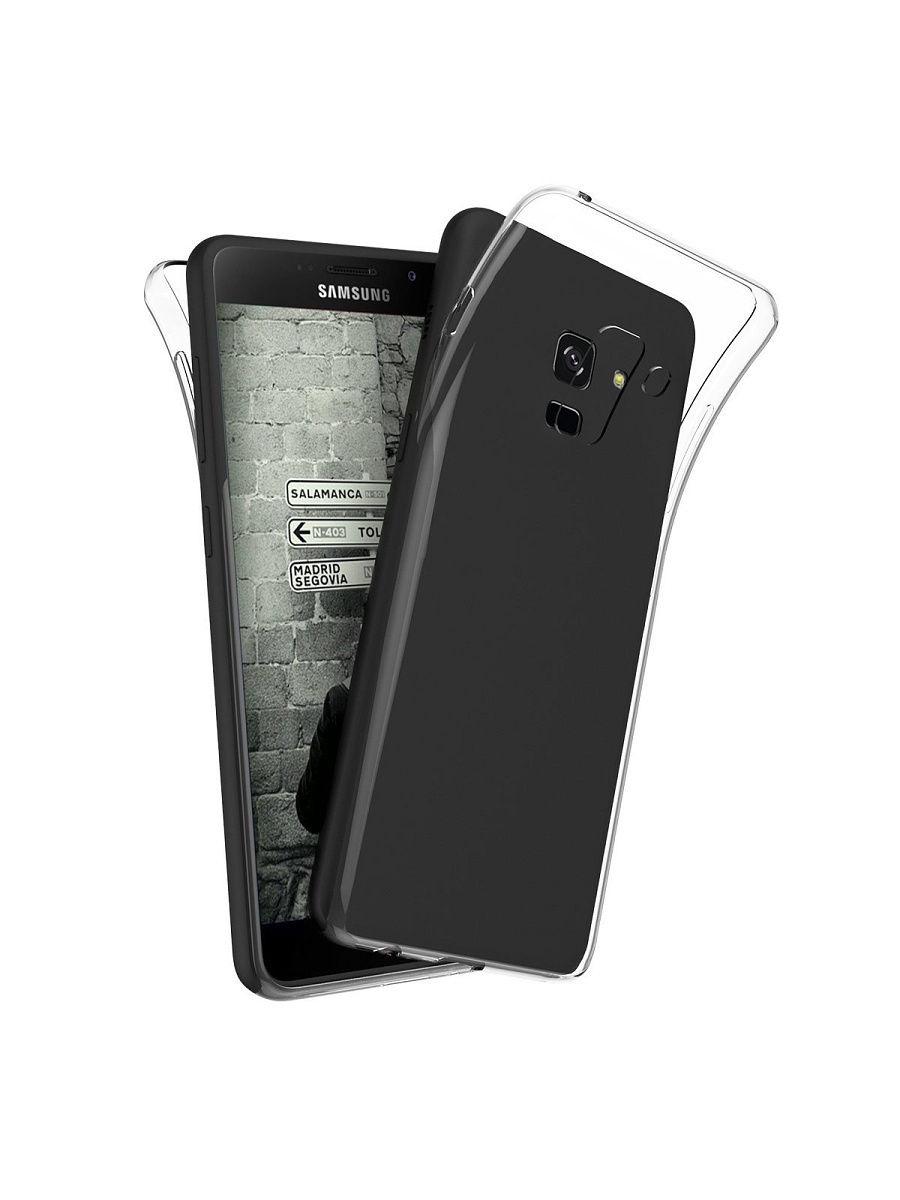 Чехол для сотового телефона With love. Moscow Силиконовый чехол для Samsung Galaxy A8+(2018)