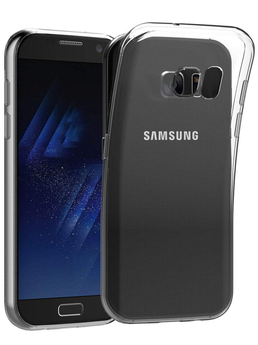 Чехол для сотового телефона With love. Moscow Силиконовый чехол для Samsung Galaxy S7, прозрачный