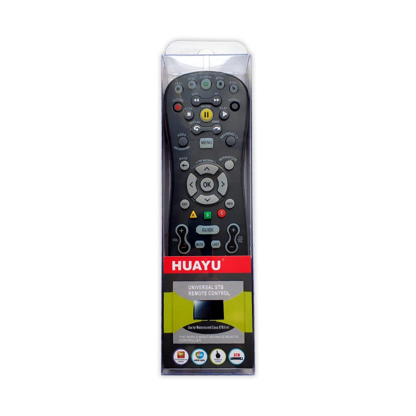 Пульт ДУ HUAYU Пульт Универсальный Билайн mxv3 ТВ, черный HUAYU