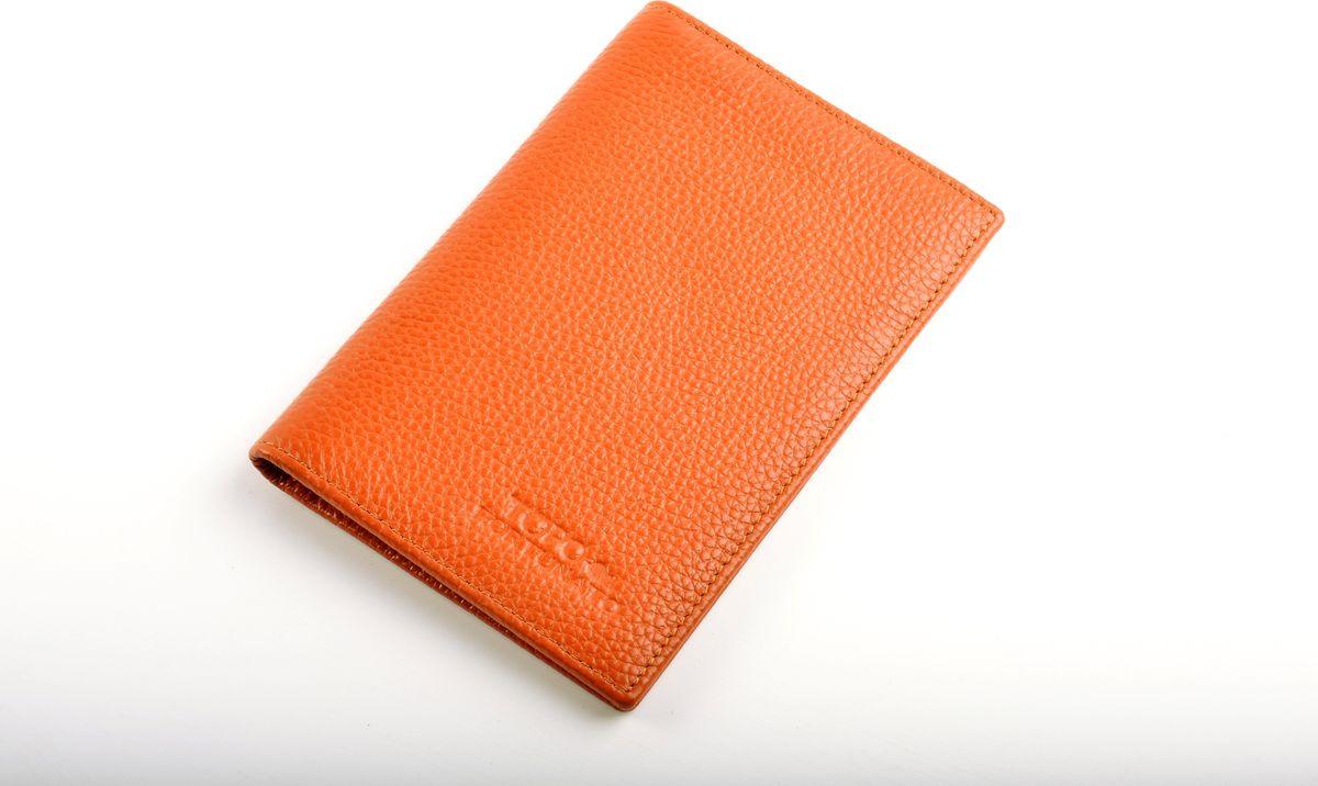 купить Обложка на паспорт Topo Fortunato, TF 1005-093, коричневый по цене 1217 рублей