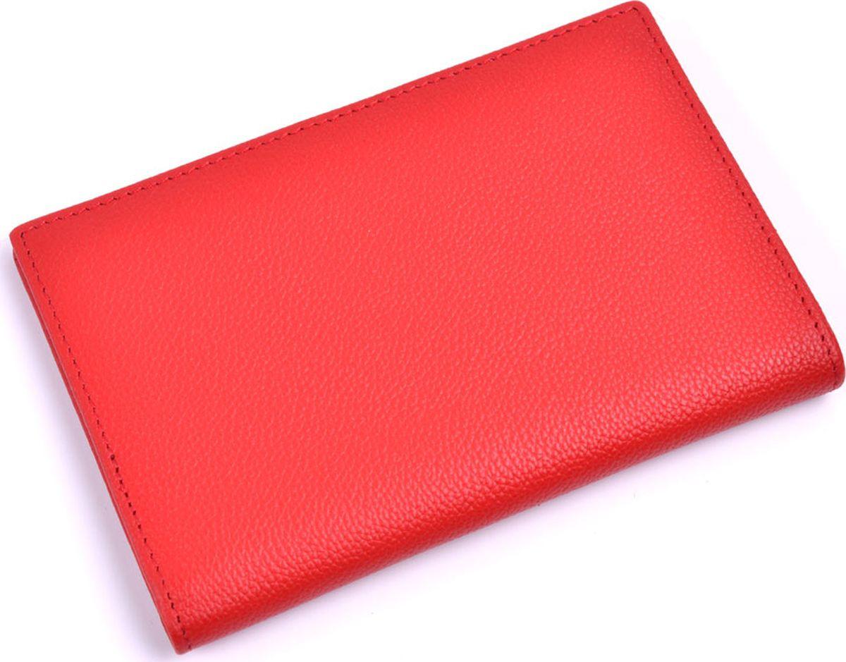 купить Обложка на паспорт Topo Fortunato, TF 115-093, красный по цене 1165 рублей