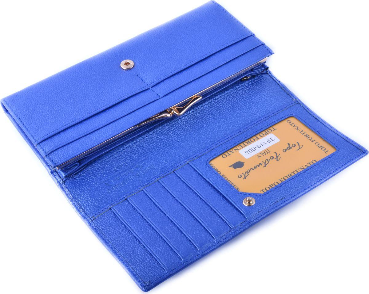 Кошелек женский Topo Fortunato, TF 119-003, голубой