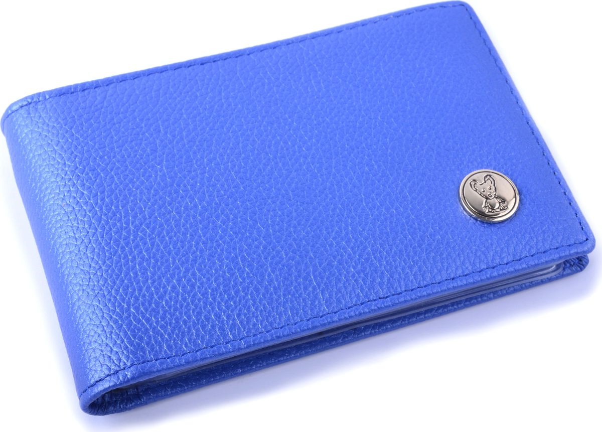 Фото - Визитница горизонтальная Topo Fortunato, TF 119-101, голубой визитница пвх синяя