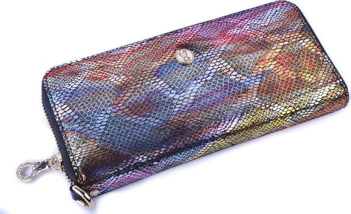 Кошелек женский Topo Fortunato Ящерица, TF 734-009, разноцветный