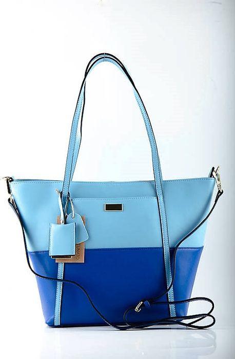 Сумка женская Topo Fortunato, TF-B 1301 Голубая/Синяя, голубой, синий