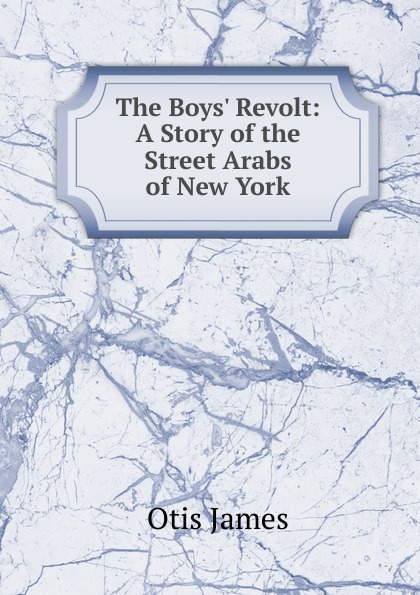 Otis James The Boys. Revolt: A Story of the Street Arabs of New York otis james peter of new amsterdam a story of old new york