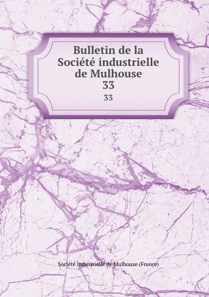 Bulletin de la Societe industrielle de Mulhouse. 33