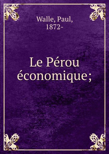 Фото - Paul Walle Le Perou economique; jean paul gaultier le male