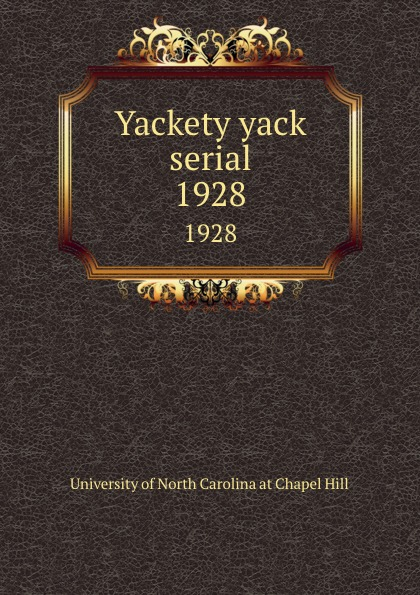 Yackety yack serial. 1928 helen chapel essentials of clinical immunology