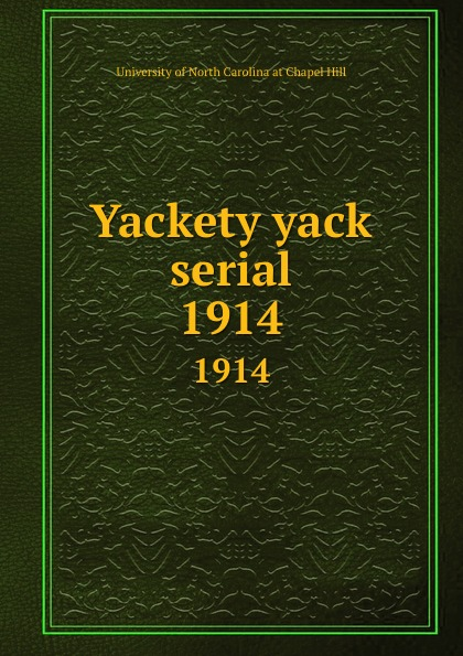 Yackety yack serial. 1914 helen chapel essentials of clinical immunology