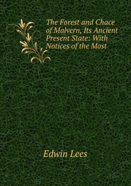 Edwin Lees The Forest and Chace of Malvern, Its Ancient . Present State: With Notices of the Most . кеды malvern malvern ma121amtrg27
