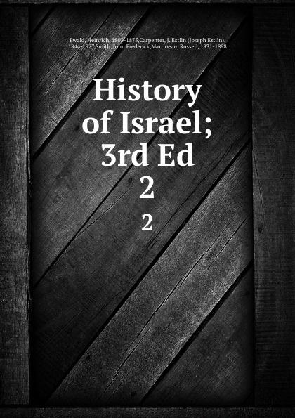 History of Israel; 3rd Ed. 2