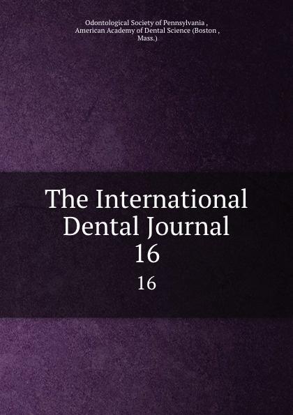 The International Dental Journal. 16