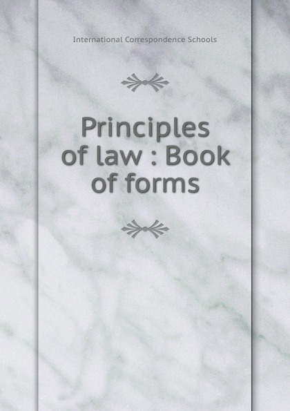 Principles of law : Book of forms захарова л и international sports law textbook