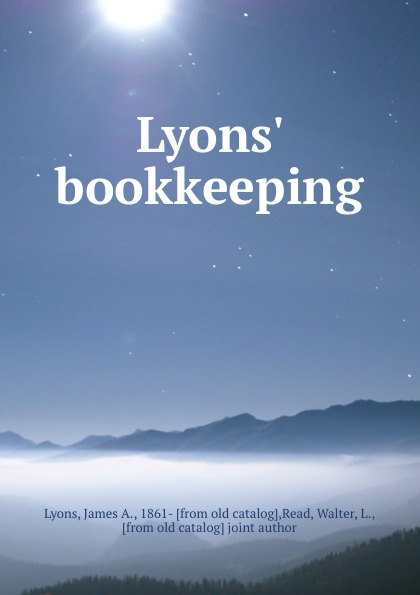 mary lyons mr loverman James A. Lyons Lyons. bookkeeping