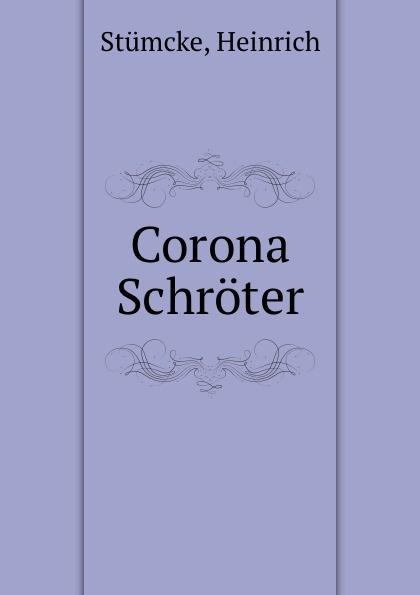 Heinrich Stümcke Corona Schroter faisal kawusi bielefeld