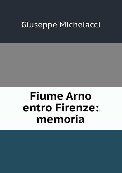 Giuseppe Michelacci Fiume Arno entro Firenze: memoria
