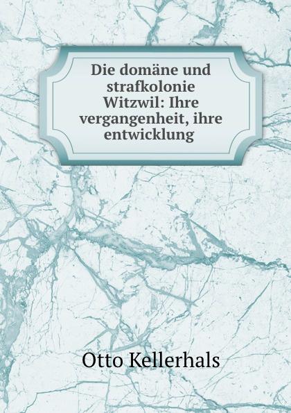 Die domane und strafkolonie Witzwil: Ihre vergangenheit, ihre entwicklung .