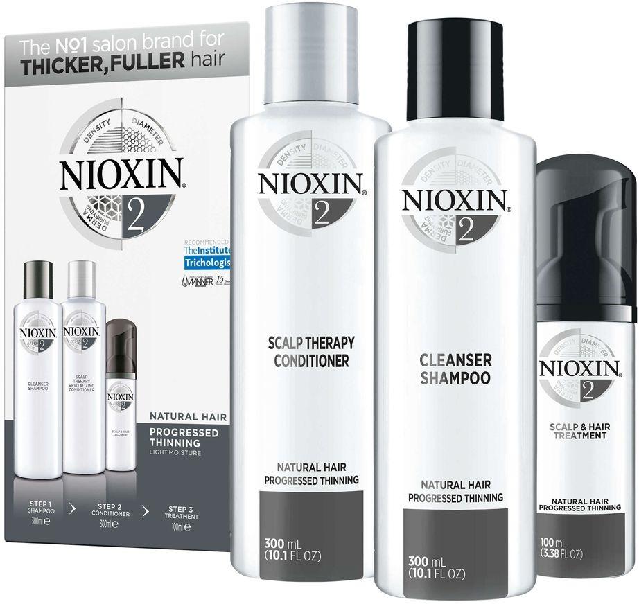 Nioxin System 2 Kit XXL - Набор (Система 2) 300 мл+300 мл+100 мл недорого
