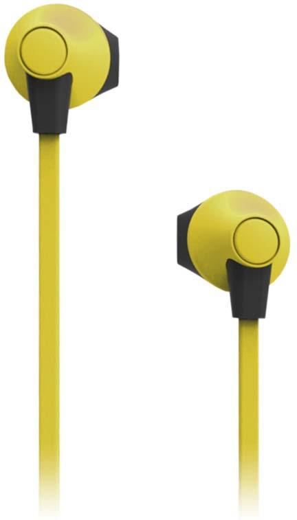 цена на Наушники внутриканальные SmartBuy Boost Soft-Touch, SBE-970, желтый