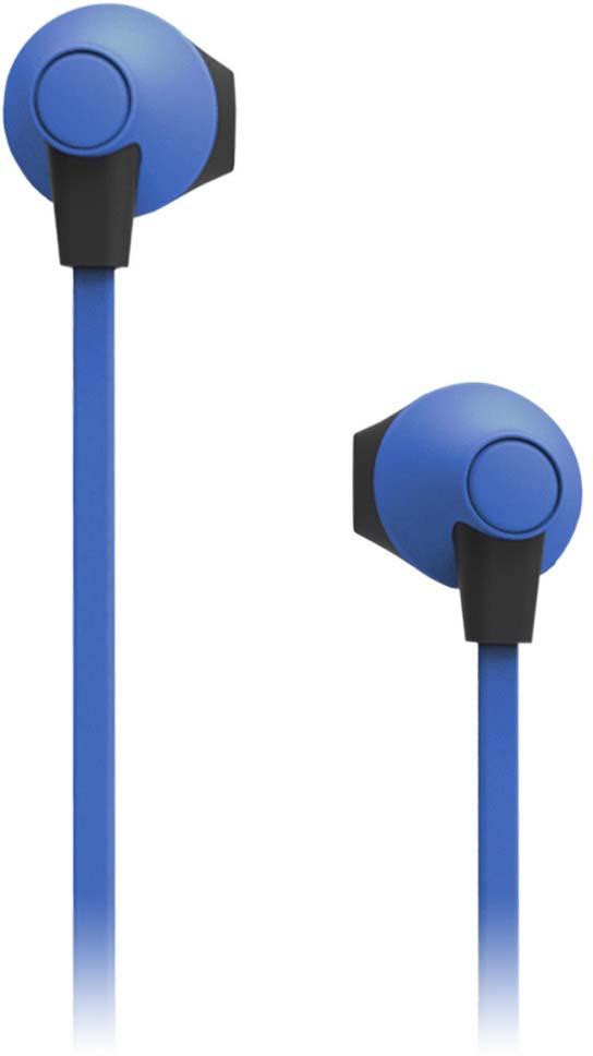 Наушники внутриканальные SmartBuy Boost Soft-Touch, SBE-960, синий все цены