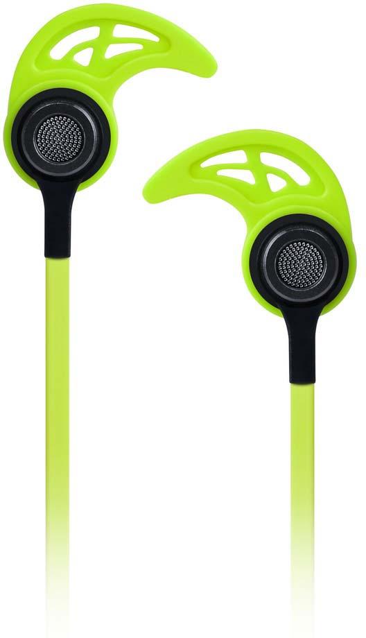 Наушники внутриканальные SmartBuy Color Beat, SBE-3020, зеленый smartbuy sbe 2300 white