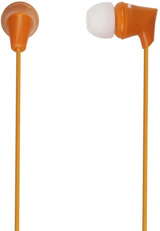 Наушники внутриканальные SmartBuy Junior, SBE-550, оранжевый проводные наушники smartbuy one sbe 150 white