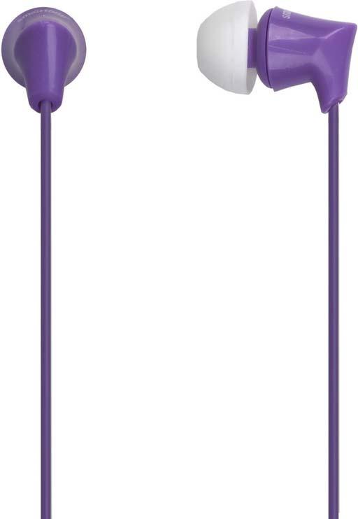 Наушники внутриканальные SmartBuy Junior, SBE-560, фиолетовый цена